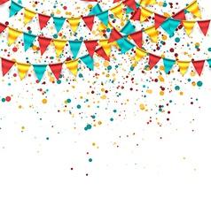 Birthday Theme Design vector image vector image