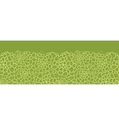 Abstract green natural texture horizontal seamless vector image