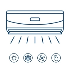 Best air conditioner vector