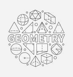 Geometry round vector