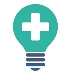 Healh Care Bulb Icon vector