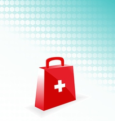 Medical bag vector