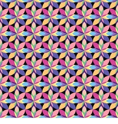 Seamless pattern consists vector