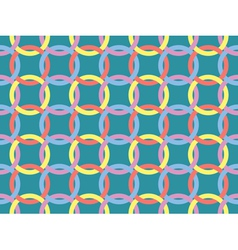 seamless pattern with Celtic knots vector image