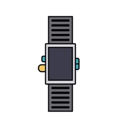 smartwatch isolated icon design vector image