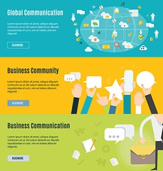 Element of business communication concept icon in vector image