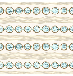 Seamless abstract hand drawn background vector image