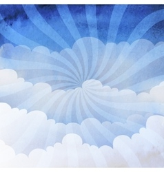 background cloudy sky vector image vector image