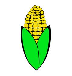 corncob icon cartoon vector image