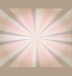 abstract retro background ray beam retro pattern vector image