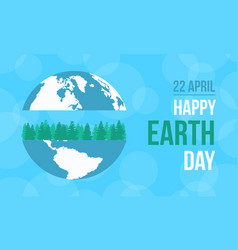 collection stock of happy earth day vector image