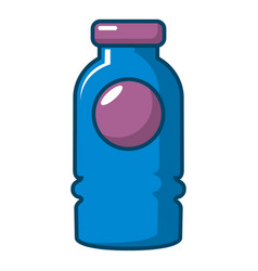 cosmetic bottle icon cartoon style vector image