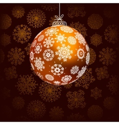 Elegant christmas background EPS8 vector image