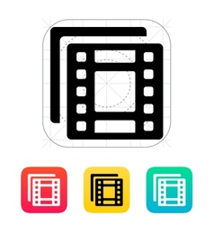 films icon vector image