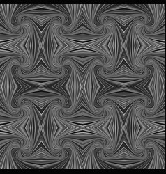grey seamless psychedelic geometrcial spiral vector image