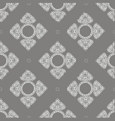 Thailand ethnic floral ornaments seamless pattern vector