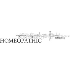 What is homeopathic medicine text word cloud vector
