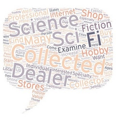 How to find sci fi collectable dealers 1 text vector