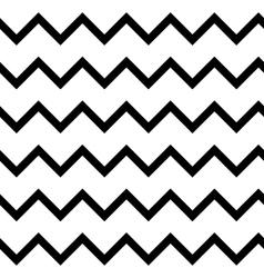 Zigzag chevron seamless pattern background vector image