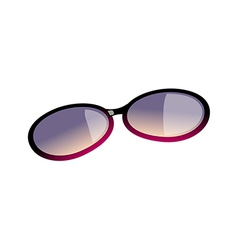 A sunglasses vector