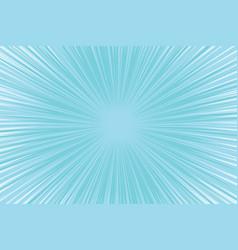 blue cool light pop art comic background vector image