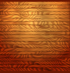 Cartoon square background with wooden boards vector