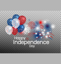 Happy independence day concept vector
