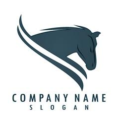 Horse logo 6 vector