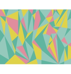 Triangle geometrical abstract background vector