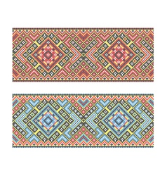 Ukrainian pattern vector
