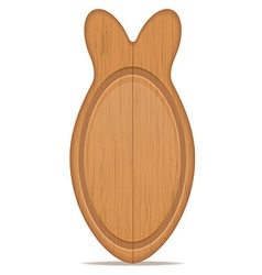 cutting board 11 vector image vector image