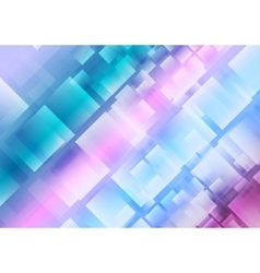 Abstract blue purple squares background vector