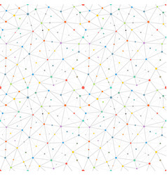 abstract pattern with color dots seamless vector image