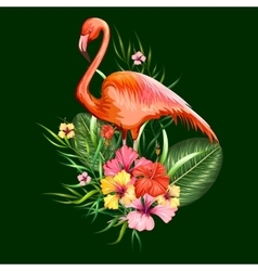 Exotic Tropical Background vector