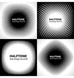 halftone2 vector image