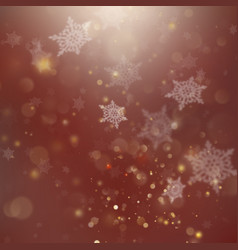 New year and xmas defocused background with vector