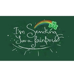 sending you a rainbow vector image