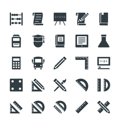Education cool icons 1 vector