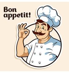 Chef cook vector