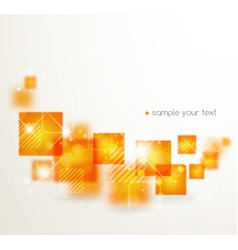 Abstract background with stylized abstraction vector image