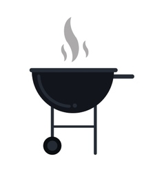 Bbq grill party american football vector