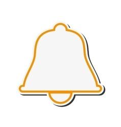 Bell tool alarm design vector