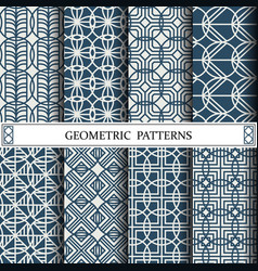 Circle geometric patternpattern fills web page vector