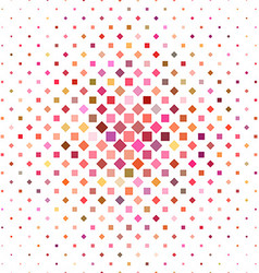 Colorful square pattern background design vector