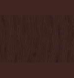 Dark brown wenge wood texture wooden background vector