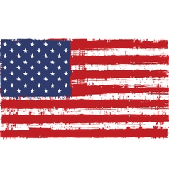 Flag us vector