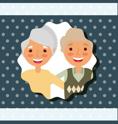 grandparents day people vector image