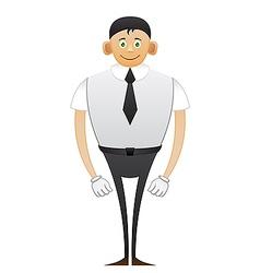 Leggy Office man vector