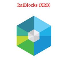 Raiblocks xrb logo vector