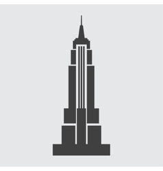 Empire State Building icon vector image